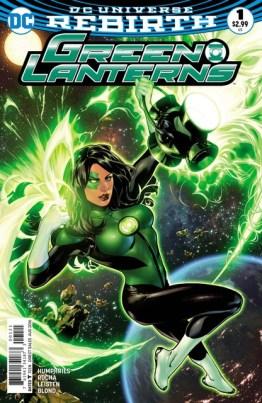 Green Lanterns No. 1 review variant