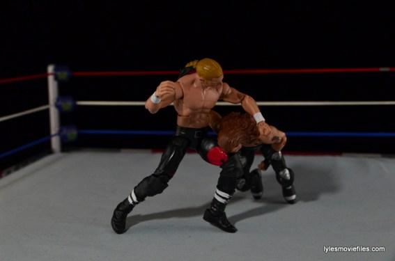 Hunter Hearst Helmsley WWE Network Spotlight figure -knee smash to HBK