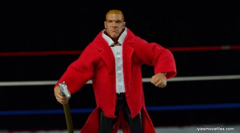 Hunter Hearst Helmsley WWE Network Spotlight figure -walking with cane