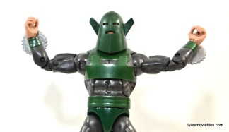 Marvel Legends Whirlwind figure review -arms outstretched