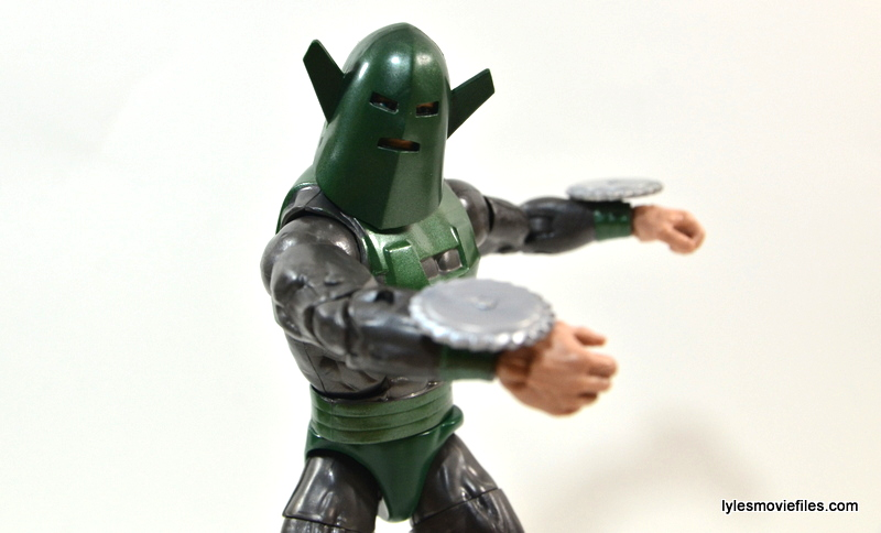 Marvel Legends Whirlwind figure review -twirling