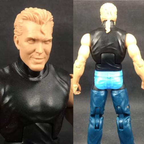 Mattel WWE prototype - nWo Scott Hall