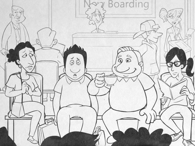Meet the Patels - cartoon Patels