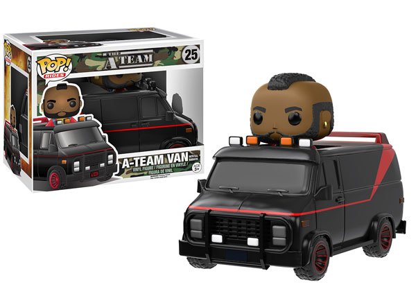POP VINYL A-TEAM - BA Baracus and A-Team van