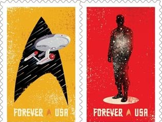 Star Trek Forever Stamps