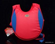 Superman swimming vest - back