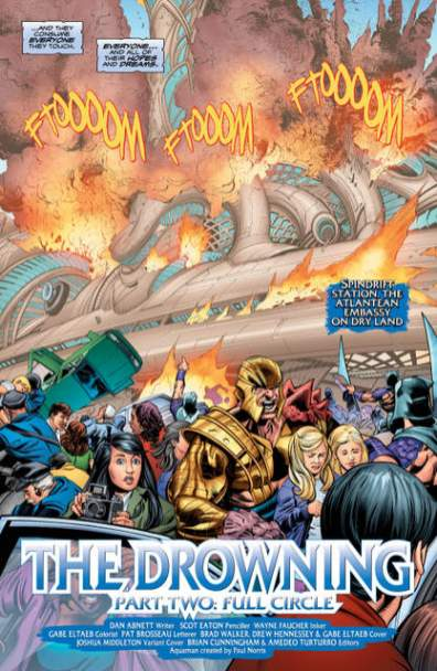 Aquaman issue 2 review The Drowning -_4
