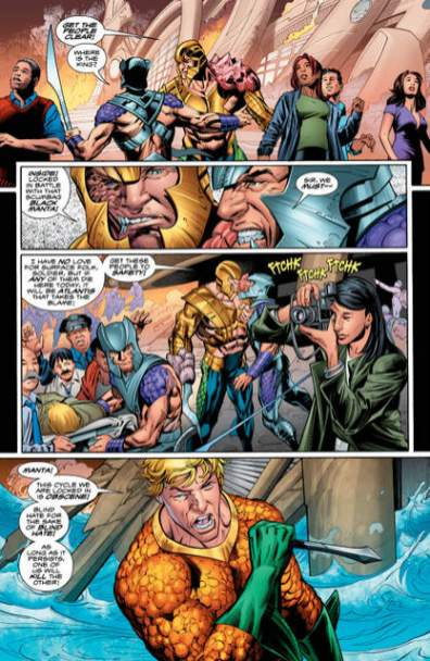 Aquaman issue 2 review The Drowning -_5