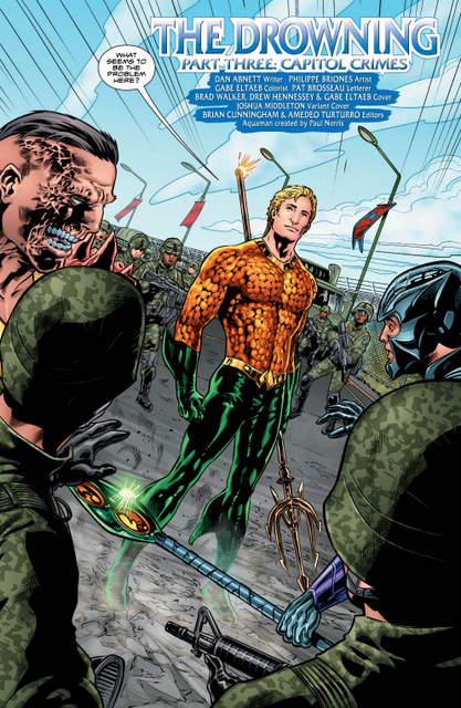 Aquaman issue 3 pg 4