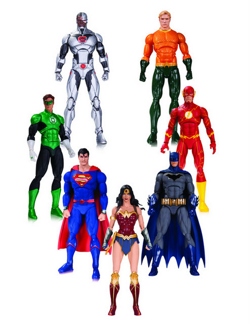 DC Icons Rebirth Justice League Boxset