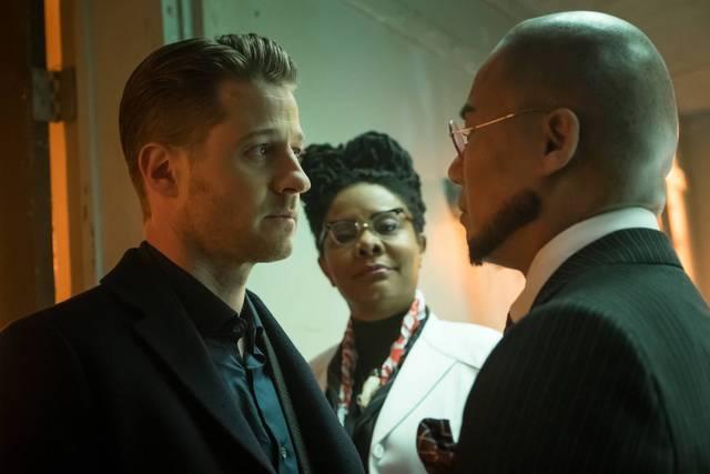 Gotham - Unleashed - James Gordon, Ms. Peabody and Hugo Strange