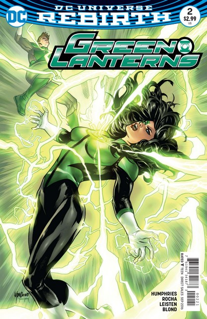 Green Lanterns issue 2 Rage Planet variant cover