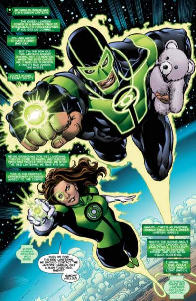 Green Lanterns issue 3 page 1