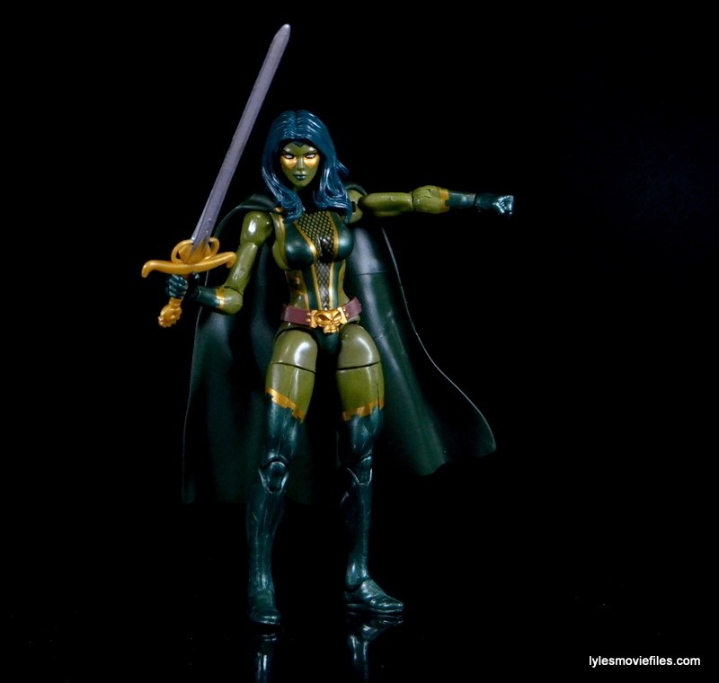 Guardians of the Galaxy Marvel Legends exclusive -Gamora with sword