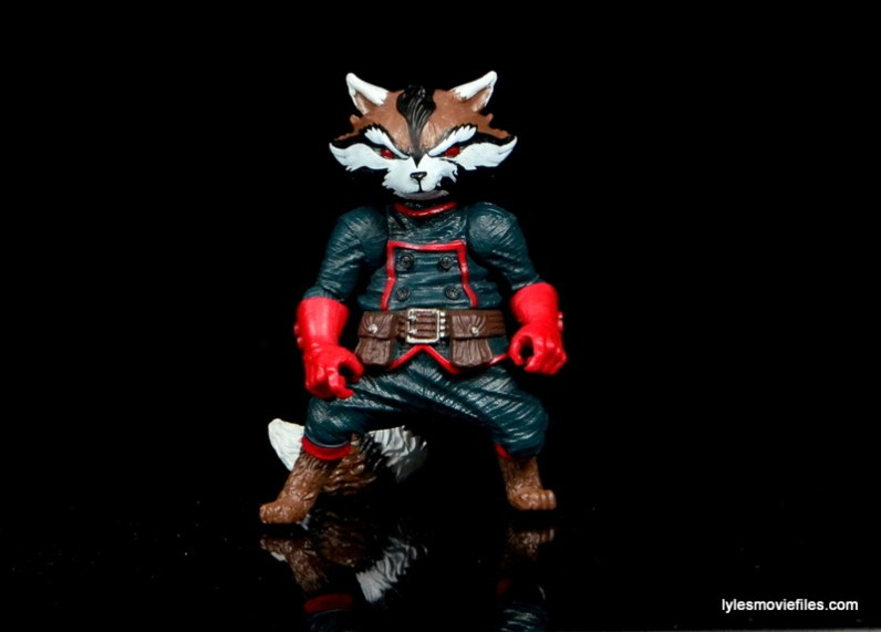 Guardians of the Galaxy Marvel Legends exclusive -Rocket Raccoon straight