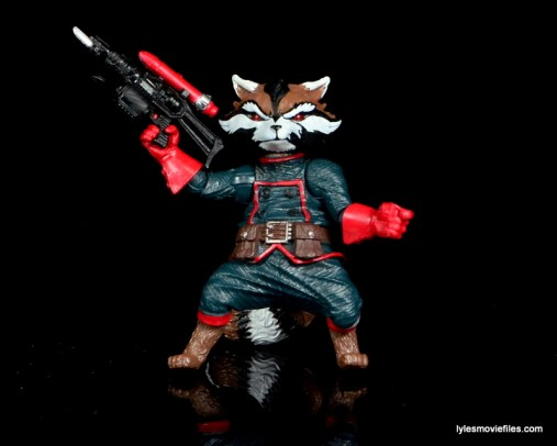 Guardians of the Galaxy Marvel Legends exclusive -Rocket with rocket gun