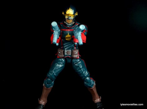 Guardians of the Galaxy Marvel Legends exclusive -Star-Lord aiming