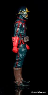Guardians of the Galaxy Marvel Legends exclusive -Star-Lord right side