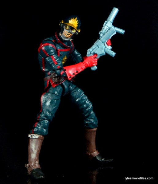 Guardians of the Galaxy Marvel Legends exclusive -Star-Lord twisting