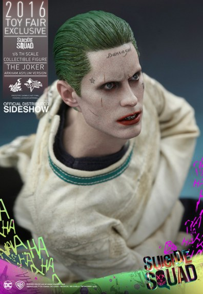 Hot Toys The Joker Arkham Asylum version - tattoo closeup