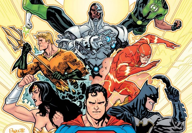 Justice League issue 1 variant cover