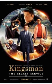 Kingsman The Secret Service - 2014 movie poster