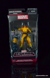 Marvel Legends Hellcat figure review - front package