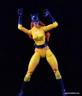 Marvel Legends Hellcat figure review -pouncing