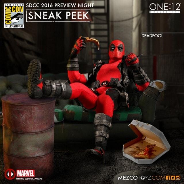 Mezco Toyz Deadpool one twelve figure-min