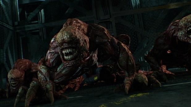 Resident-Evil-Damnation-Biohazard-Damnation -licker