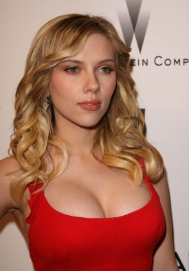 Scarlett Johansson Red Dress 2
