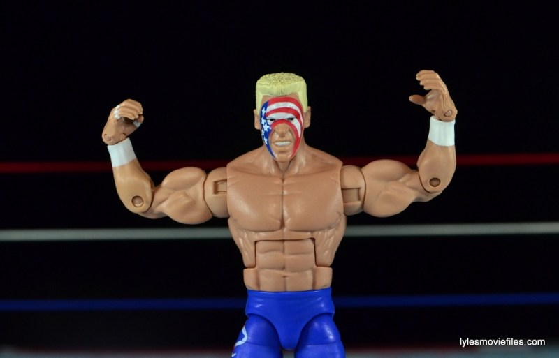 Sting Defining Moments figure review - flexing
