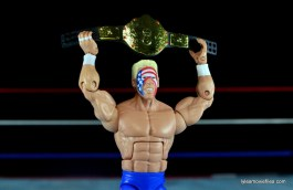 Sting Defining Moments figure review - raising NWA title