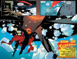 Superman issue 2 - Son of Superman - page_2-3
