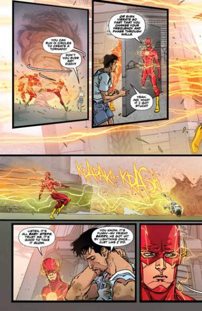 The Flash issue 2 Thunderstruck page_2