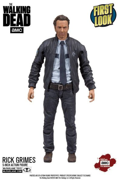 The Walking Dead 5 inch line Rick Grimes Alexandria constable
