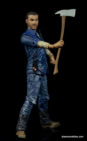 The Walking Dead Lee Everett McFarlane Toys figure -holding pick axe