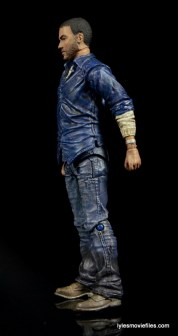 The Walking Dead Lee Everett McFarlane Toys figure -left side