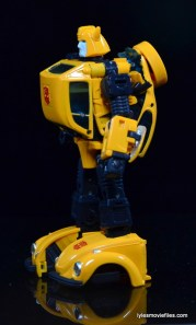 Transformers Masterpiece Bumblebee review -left side