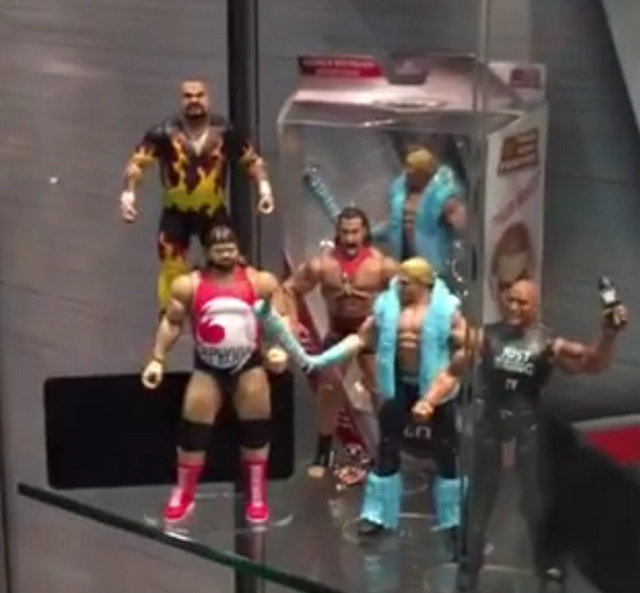 WWE Day 3 - Typhoon, Bam Bam, Tyler Breeze, The Rock