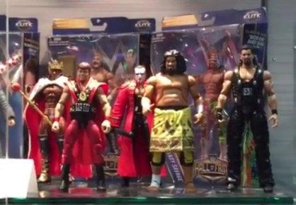 WWE Day 3 - Wild Samoan Sika, Diesel, Jerry Lawler, Sting, Booker T