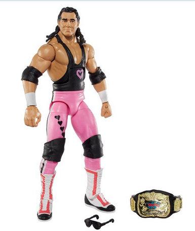 WWE Elite 43 Flashback Hart Foundation Bret Hart