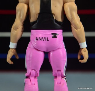 WWE Elite 43 Hart Foundation figures - Anvil detail