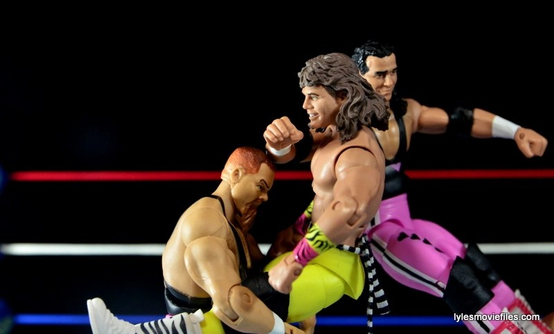 WWE Elite 43 Hart Foundation figures -Hart Attack to Marty Jannetty