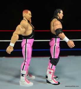 WWE Elite 43 Hart Foundation figures -right side