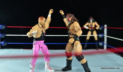 WWE Elite 43 Hart Foundation figures -test of strength with Smash