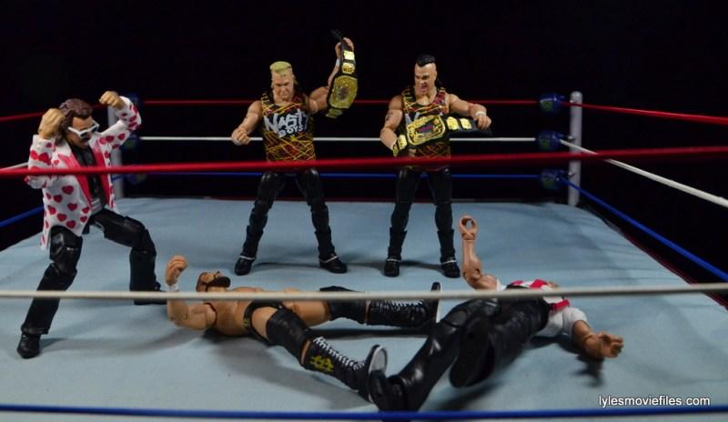 WWE Nasty Boys Elite 42 -beating down Money Inc