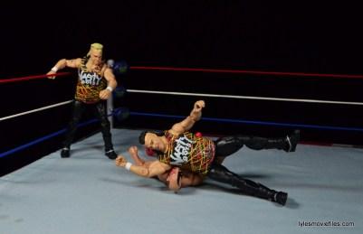 WWE Nasty Boys Elite 42 -elbow drop on Hawk