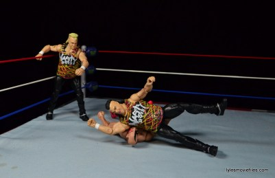 WWE Nasty Boys Elite 42 -elbow drop on Hawk
