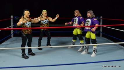 WWE Nasty Boys Elite 42 -face off with The Rockers